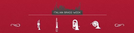 Italian Brass Week - Newsletter